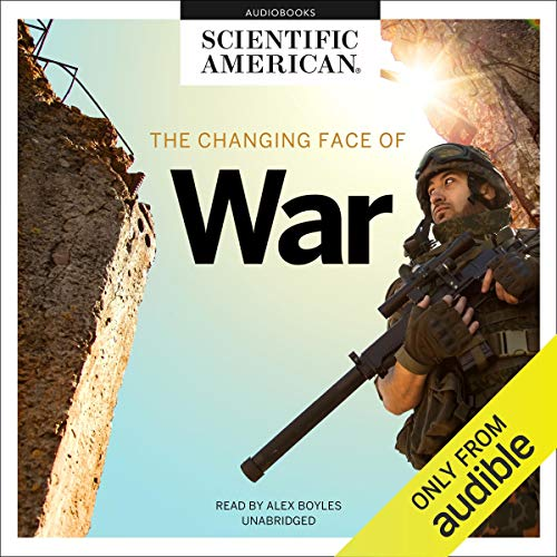 The Changing Face of War audiobook cover art