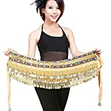 YouPue Tribal Ceinture de Danse Orientale Belly Dance danse du ventre Foulard Costume Professionnel...