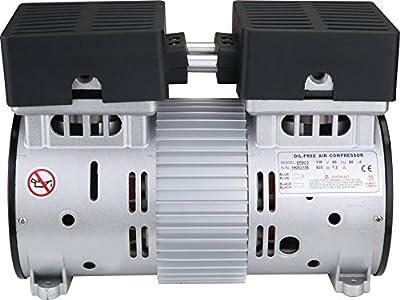 California Air Tools 1/2HP Ultra Quiet and Oil-Free Air Compressor Motor