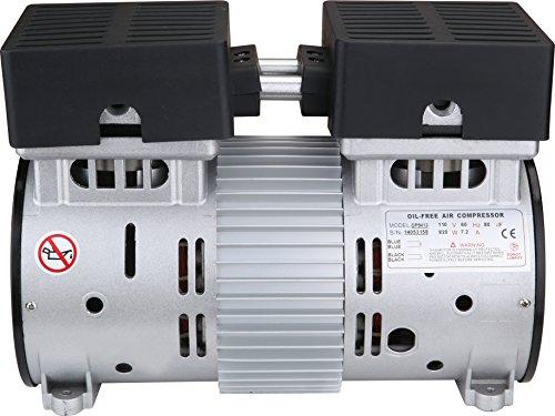 California Air Tools SP-9413 1.0HP Ultra Quiet and Oil-Free Air Compressor Motor