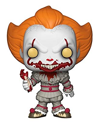 Movies: IT Pennywise with Severed Arm, Amazon Exclusive Collectible Figure, Multicolor