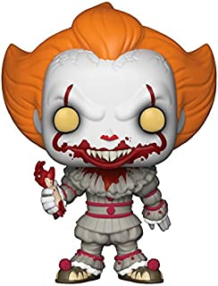 Funko Pop! Horror: IT - Pennywise with Severed Arm, Amazon Exclusive Collectible Figure, Multicolor