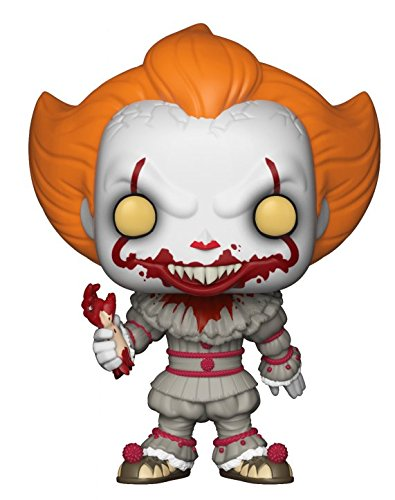 Funko-Vinyl: It 2017: Pennywise w/Severed Arm (Exclusivo) Pop Vinilo, Multicolor (29527)