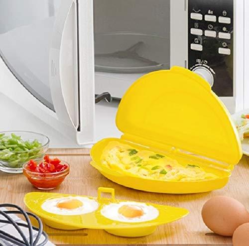 IGS Rührei Maker Eierkocher Spiegelei pochierte Eier Omelett für Mikrowelle