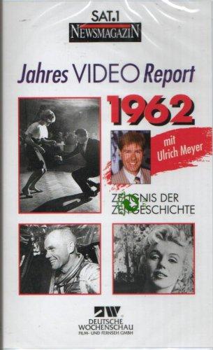 JAHRES VIDEO REPORT 1962 - Zeugnis der Zeitgeschichte - Deutsche Wochenschau (VHS-VIDEOKASSETTE)
