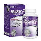 BioGenetic Labs Carb Blocker X7 - White Kidney Bean Cheat Pill - Keto-Friendly - Carb Blocker Pills for Women and Men - Appetite Suppressant to Maintain Your Ideal Body Weight (90 Capsules)