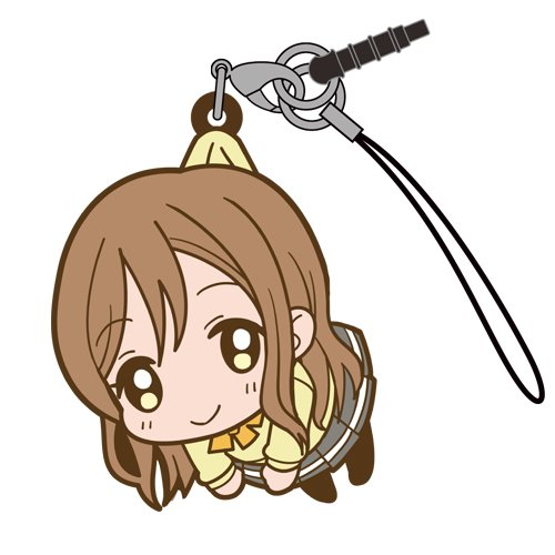 Love Live Sunshine Hanamaru Kunikida in Aquarium Costume COSPA Pinch Tsumamare Phone Strap Charm with Dust Plug Anime Art Collection