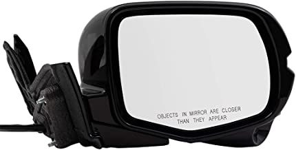 BROCK Power Side View Mirror for 2016-2018 Honda Pilot Passenger Signal Memory Camera Manual Folding 76200TG8A11ZD 76200-TG8-A11ZD