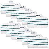 KEEPOW – Juego de 12 toallitas de microfibra rectangulares para Black & Decker escobillas de vapor – alternativa a FSMP20 – Producto original para FSM1630, FSM1616, FSM1321,FSM1605, FSMH13151SM ETC