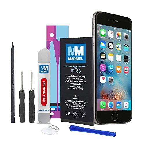 MMOBIEL Akku kompatibel mit iPhone 6S Li-Ion Batterie 3,8v 1715 mAh 6.91 WHR mit Werkzeugset und Anleitung