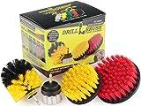 Pinsel Bürste Bohraufsatz Kit Drillbrush Drill - Bohren Powered Reinigungsbürste Zubehör -...