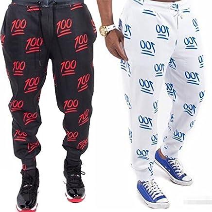 31e67cdadc621 xiaoxiongmao Women Fashion Jogging Pants Cool Joggers New 3D Print 100  Hundred Points Emoji Joggers Casual