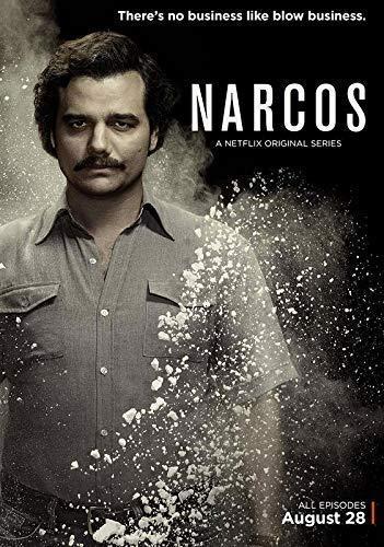 Desconocido Narcos Serie de TV Póster Foto Series Art Pablo...