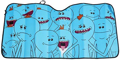 Rick and Morty Mr. Meeseeks - Protector Solar Decoración Coche