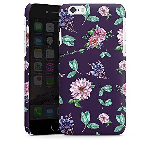 DeinDesign Custodia Premium Compatibile con Apple iPhone 6 Plus Cover per Smartphone Custodia Opaca Fiore Natura Vintage