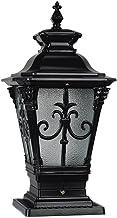 W&YAN Outdoor LED Post Light Garage Decking Patio Lighting Waterproof Antirust Aluminum Column Lamp Pavilion Courtyard Cou...