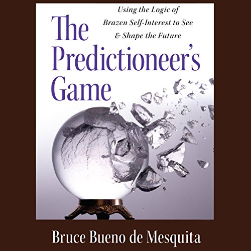 The Predictioneer's Game audiobook cover art