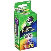 FUJIFILM カラーネガフイルム フジカラー PREMIUM 400 36枚撮り 5本パック 135 PREMIUM 400-R 36EX 5SB