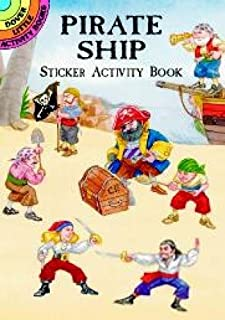 Pirate Ship Sticker Activity Book