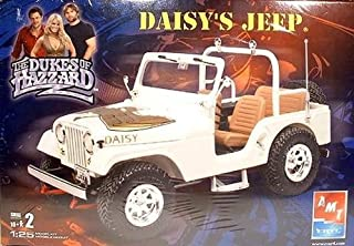 ERTL AMT 1:25 SCALE SKILL LEVEL 2 THE DUKES OF HAZZARD DAISY'S JEEP MODEL KIT
