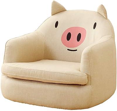 Amazon.com: Cartoon Kids Sofa Upholstered Armchair Couch ...