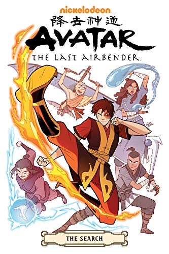 The search (Nickelodeon Avatar the last airbender, The search omnibus)