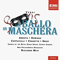 Verdi - Un ballo in maschera / Arroyo 路 Domingo 路 Cappuccilli 路 Cossotto 路 Grist 路 NPO 路 Muti