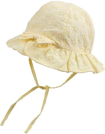 b468250087033 XIAOHAWANGベビー 帽子 夏 赤ちゃん ハット 「綿麻の裏面・夏の定番」