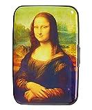 Fig Design Group Da Vinci Mona Lisa RFID Secure Data Theft Protection Credit Card Armored Wallet