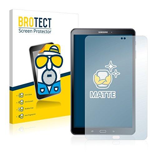 BROTECT Protector Pantalla Anti-Reflejos Compatible con Samsung Galaxy Tab A 10.1 SM-T585 / T580 (2016) (2 Unidades) Pelicula Mate Anti-Huellas