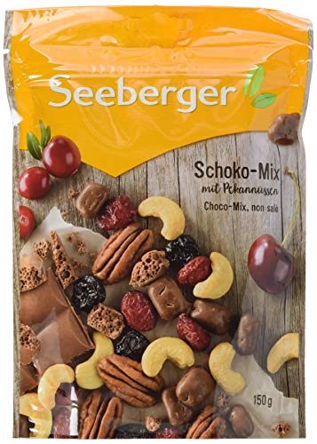 Seeberger Schoko-Mix, 5er Pack (5 x 150 g)