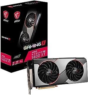MSI Gaming Radeon RX 5600 XT Boost Clock: 1620 MHz 192-bit 6GB GDDR6 DP/HDMI Dual Torx 3.0 Fans RGB Crossfire Freesync VR ...