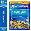StarKist Chunk Light Tuna in Water - 2.6 Ounce Pouches (Pack of 12) #1
