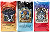 Raven's Brew Whole Bean Coffee Variety Pack - Number 2 - House Blend, Bruin Blend and Wicked Wolf - 12oz 3-pack