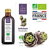 Artichaut bio français Solution buvable de plantes fraîches Detox naturelle du foie Origine France...