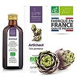 Artichaut bio français  Solution buvable de plantes fraîches  Detox naturelle du...