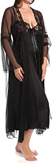 Shirley of Hollywood Plus Size 2 Piece Long Gown Peignoir Set (X3489)