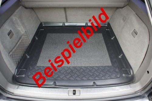 Kofferraumwanne mit Anti-Rutsch passend für VW Golf 6 Plus HB/5 04/2009-2012 vertiefte Ladeflaeche; fuer Modelle ohne Varioboden und mit Not-Rad