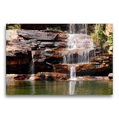 Premium Textil-Leinwand 75 x 50 cm Quer-Format Galvans Gorge, Kimberley, W.A. | Wandbild, HD-Bild auf Keilrahmen, Fertigbild auf hochwertigem Vlies, Leinwanddruck von Andrea Redecker
