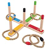 Bigjigs Toys Wooden Quoits