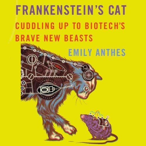 Frankenstein's Cat audiobook cover art