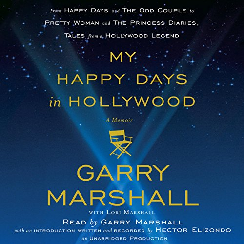 My Happy Days in Hollywood audiobook cover art