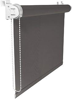 comprar comparacion Victoria M. Klemmfix - Estor Opaco para Ventana (fijación sin taladrar) tamaño: 50 x 150 cm Gris