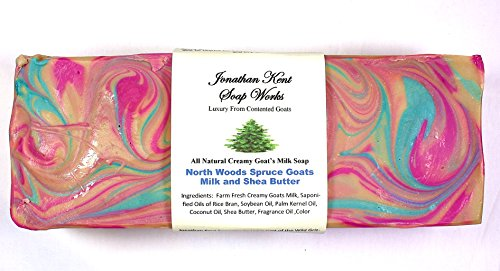 Jonathan Kent Soap Loaf – North Woods Spruce Creamy