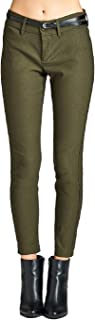 YourStyle Belted Bengaline Stretch Pants