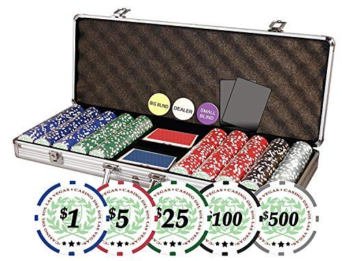 DA VINCI Professional Casino Del Sol Poker Chips Set with Case (Set...
