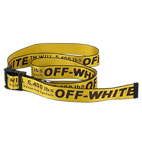 OFF-WHITE ベルト インダストリアル メンズ イエロー【OFF WHITE 男性 ブランド 正規品 セール VIRGIL ABLOH】