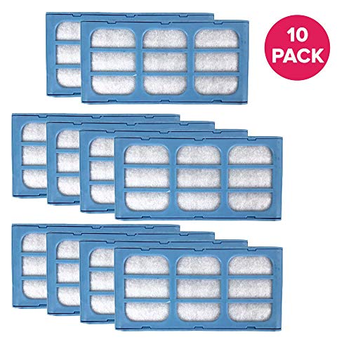 Think Crucial Replacement CatMate DogMate Pre Foam Water Filter Cartridges for Pet Fountain, Fit Cat Mate & Dog Mate Fountains (10 Pack)