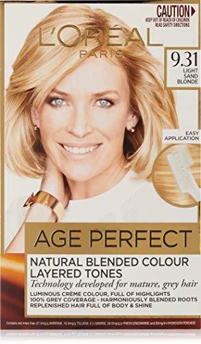 L'Oréal Paris Excellence Age Perfect Permananent Hair Colour - 9.31 Light Sand Blonde (Natural Blended Colour)