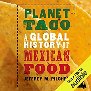 Planet Taco audiobook cover art